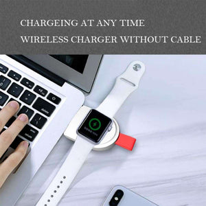 Portable Smart Watch Wireless Charger