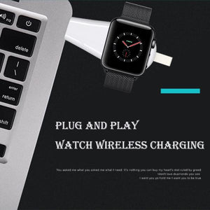 Portable USB Magnetic Bluetooth Watch Charger