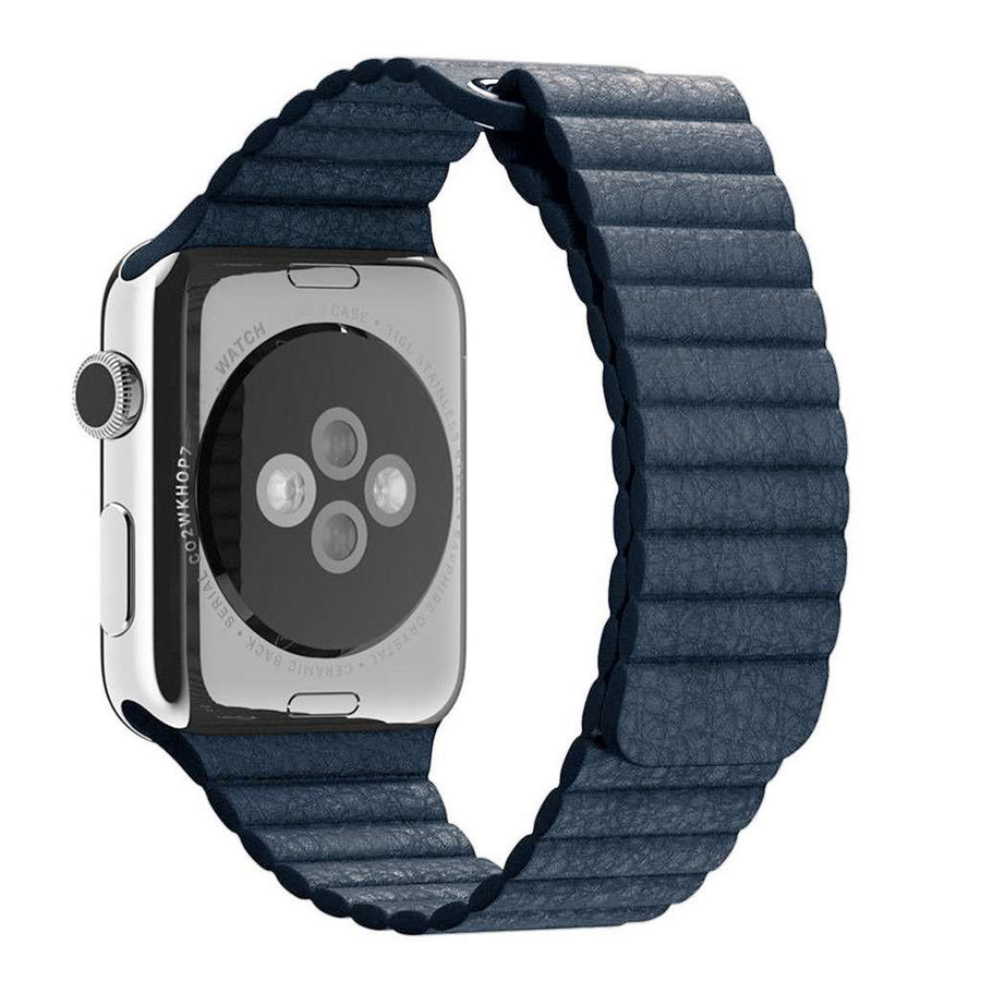 Compatible With Apple Watch Series 1/2/3/4, Leather Loop - Veecircle