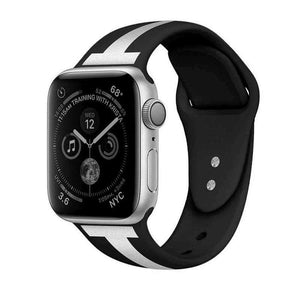 Compatible With Apple Watch Series 1/2/3/4, New Silicone - Veecircle
