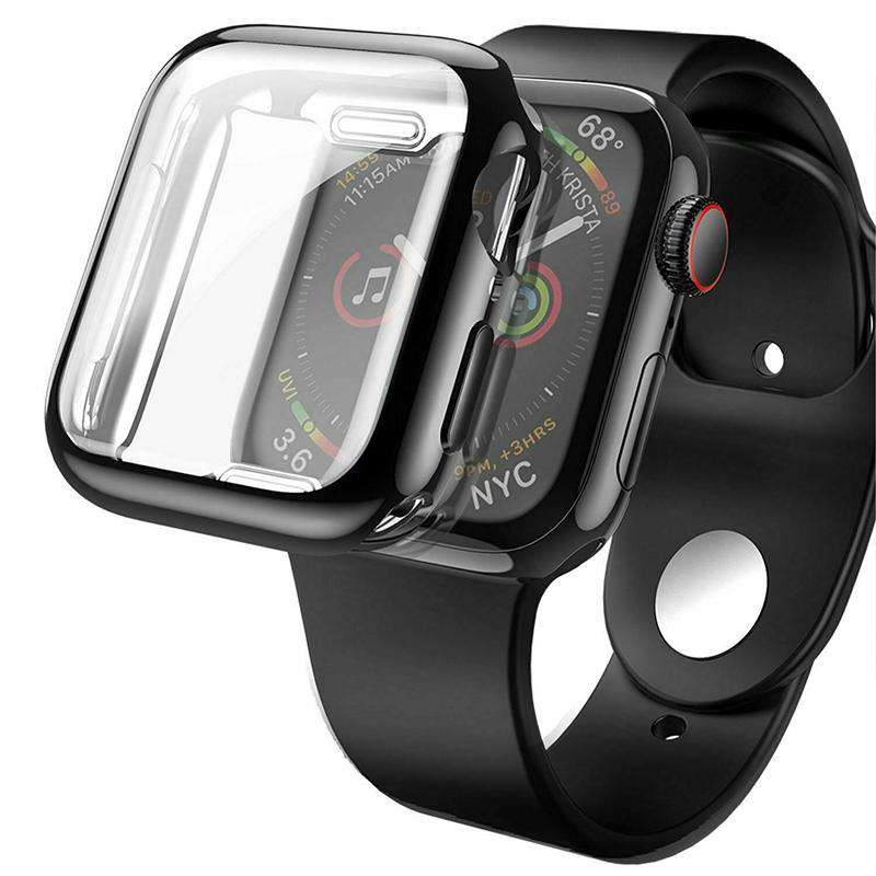 For Apple Watch Series 4,Silicone Screen Protector Case - Veecircle