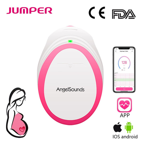 Angelsounds Portable Doppler Prenatal Monitor 3MHz