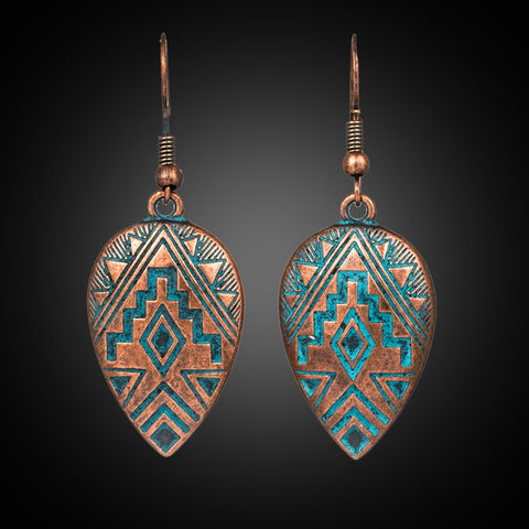 Boho Ethnic Dangle Drop Earrings