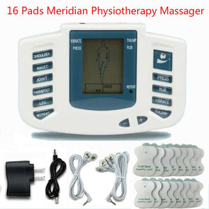 Full Body Tens Acupuncture Electric Therapy Massager Meridian Physiotherapy