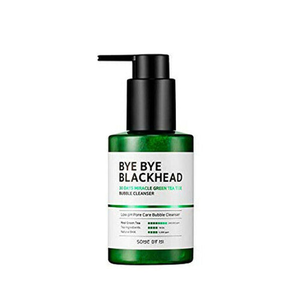SOME BY MI Bye Bye Blackhead 30 Days Miracle Green Tea Tox Bubble Cleanser Pimple Acne Treatment Blackhead Removal Exfoliating