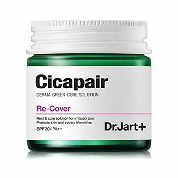 Dr.Jart+ Cicapair Re-Cover 50ml Face Cream Skin Color Correction Moisturizing Cream Facial Serum Skin Inflammation Scar Healing