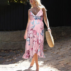 Maternity Dress Casual Floral