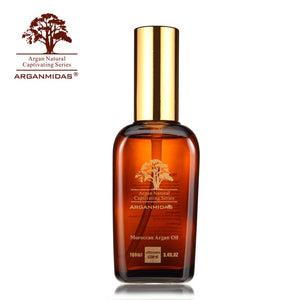 100ml Natural Organic Argan Oil for Smoothing Repair