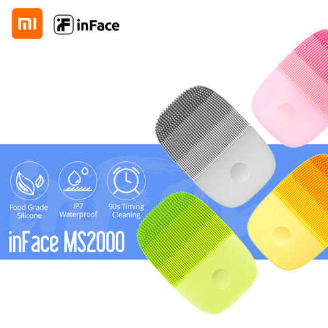 InFace Facial Cleansing Brush Mijia Deep Cleansing Face Waterproof Silicone