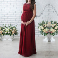 Pregnant Long Dress Casual Long Sleeve