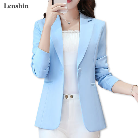 Lenshin Jacket for Women Two Pockets