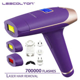 Lescolton 3in1 700000 pulse IPL Laser Hair Removal Device Permanent Hair Removal