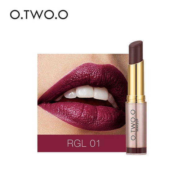 O.TWO.O Best Selling Lipstick Popular Red Nude Colors Matte Long Lasting