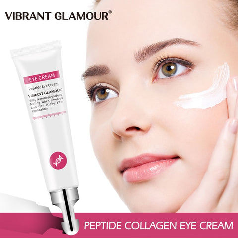 Peptide Collagen Eye Cream Anti Wrinkle Remove Eye Bag Anti Puffiness Dark Circles