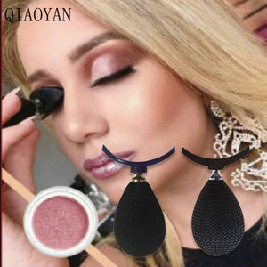 Eye Shadow Applicator Silicon eyeshadow stamp crease For makeup
