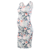 Maternity Dress Sleeveless Casual