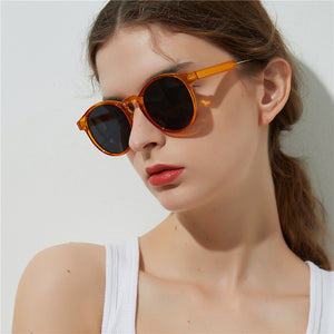 Gothic Transparent Women Vintage Square Sunglasses