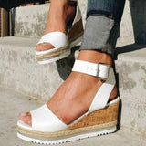 Wedges Women Sandals Plus Size High Heels