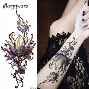 Glaryyears 26 Designs 1 Sheet Body Tattoo Sticker