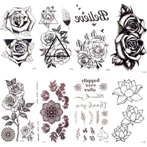 Temporary Tattoo Stickers Waterproof