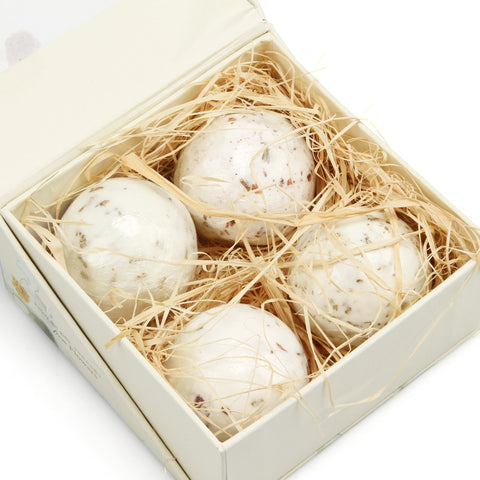 Bath Bombs Set Organic and Natural Fizzy Spa 4Pcs/set