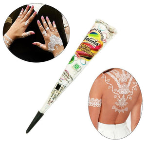 1PC Indian Pure White Henna Tattoo Paste