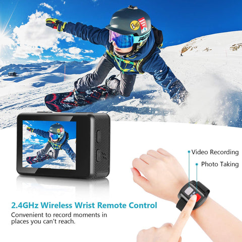 50-in-1 Sports Action Camera Complete Set