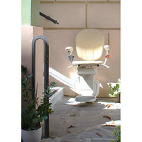 AmeriGlide Horizon Plus Battery Powered Outdoor Stair Lift