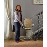 AmeriGlide Horizon Plus Battery Powered Stair Lift w/Power Swivel