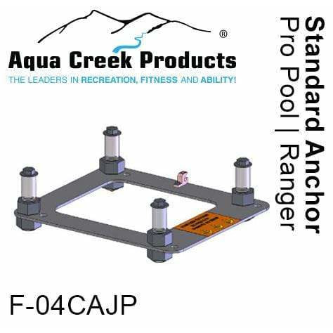 "Aqua Creek Standard Concrete Applications 4"" Inserts F-04CAJP"