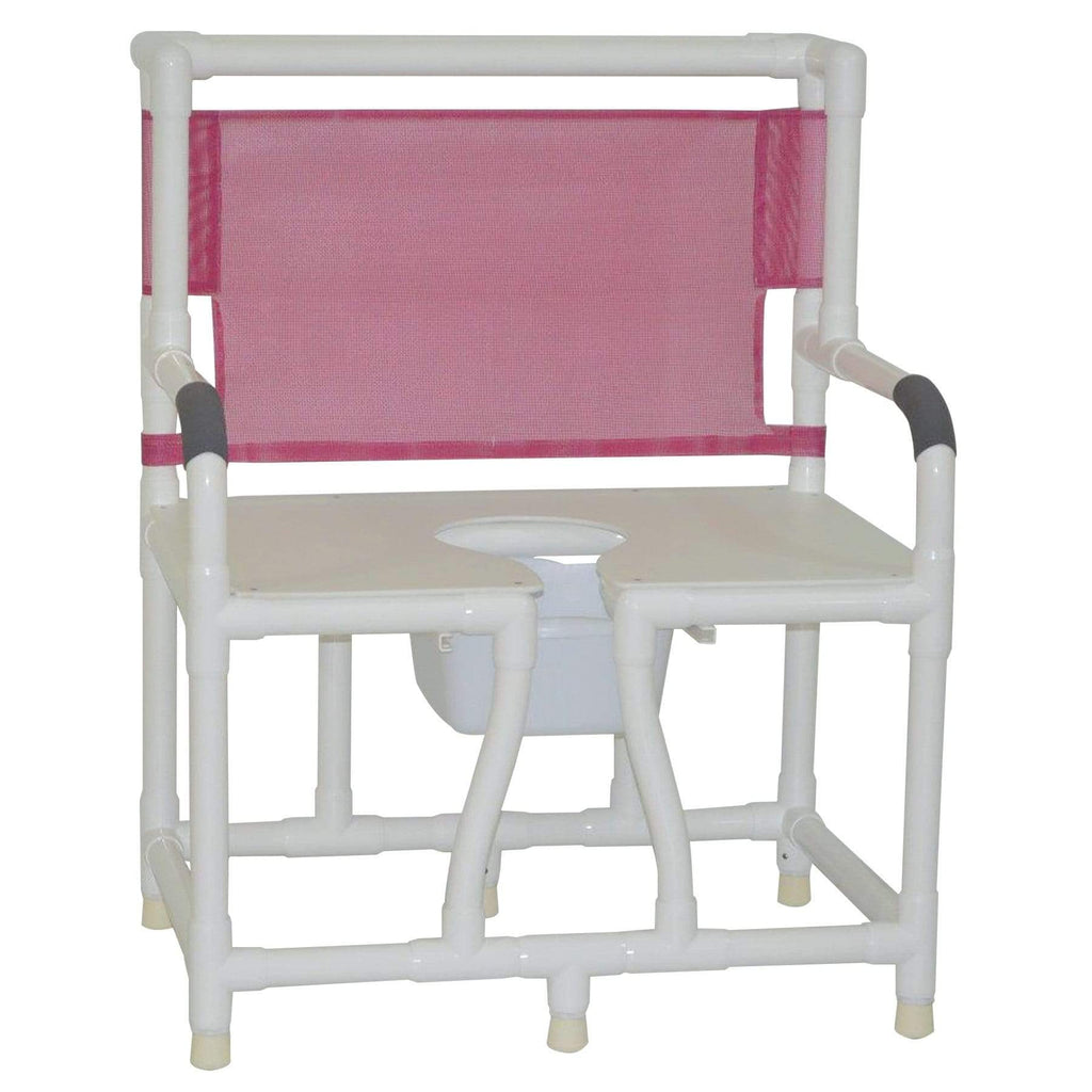 "Convaquip 30"" Bariatric Bedside Commode 130-C10"