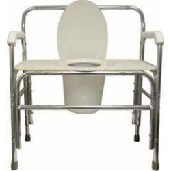"Convaquip 30"" Fixed Arms Bariatric Bedside Commode 730"