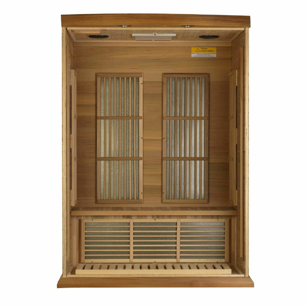 Maxxus Cholet Edition Near Zero EMF FAR Infrared 2-Person Sauna MX-K206-01-ZF CED