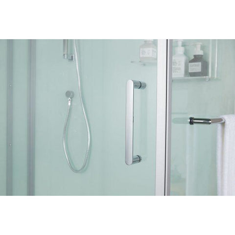 Maya Bath Anzio Platinum Freestanding Steam Showers 208