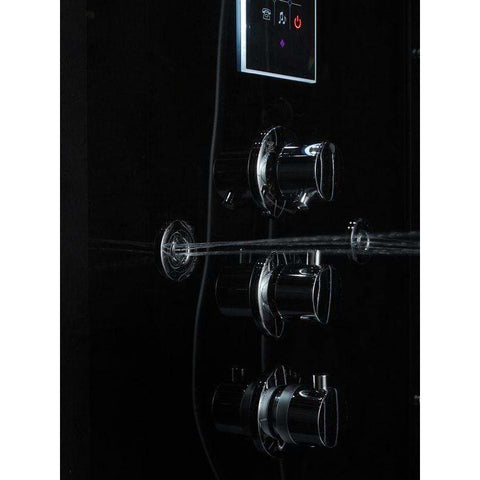 Maya Bath Lucca Platinum Freestanding Steam Shower 204