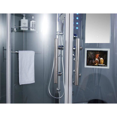 Maya Bath Superior Platinum 2-Person Freestanding Steam Shower 103