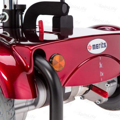 Merits Health EZ-GO 12V/15-22Ah Rear-Wheel Electric Wheelchair P321A