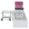 Image of MJM International Dual Shower Chair D118-5-Slide
