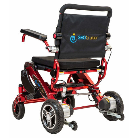 Pathway Mobility Geo Cruiser Elite EX 24V/16Ah 180W Lightweight Foldable Electric Wheelchair GC-416