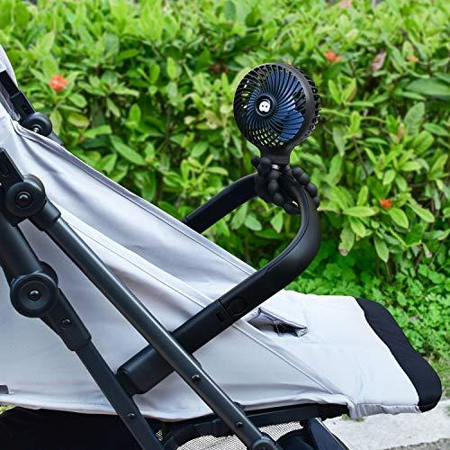Portable Mobility Scooter and Electric Wheelchair Fan