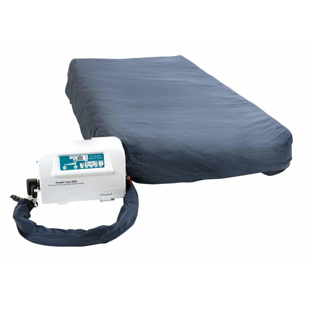 "Proactive Medical 9900AB 36""x80""x10"" Low Air Loss/Alternating/Pulsation Mattress System Protekt Aire 81090-36AB"