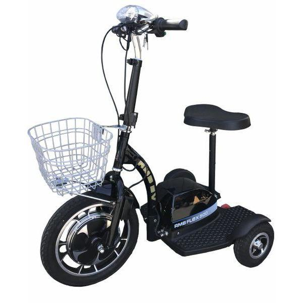 RMB Flex 500 48V/10Ah 500W 3-Wheel Electric Scooter RMB-FLEX-500