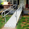 Image of Roll-A-Ramp Modular Portable Ramp With Straight End Handrail On Two Sides M30-5-2