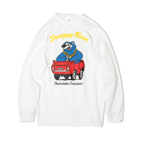 UPPERLAKE MOB DESIGNED SWAGGY BEAR LONG SLEEVE T