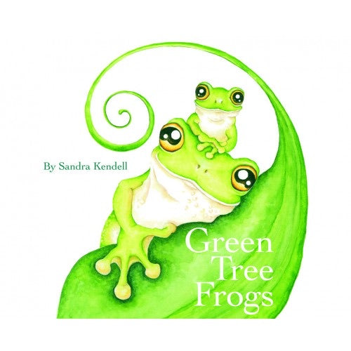 Green Tree Frogs Book