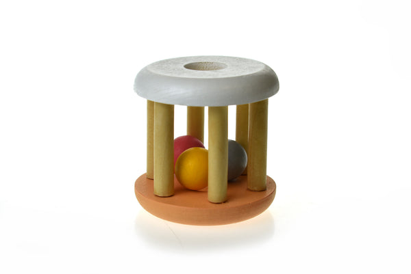 Calm and Breezy Wooden Rattle