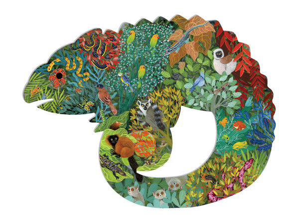 150pc Art Puzzle Chameleon