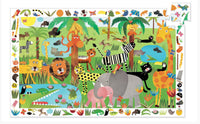 35pc Jungle Observation Puzzle and Poster
