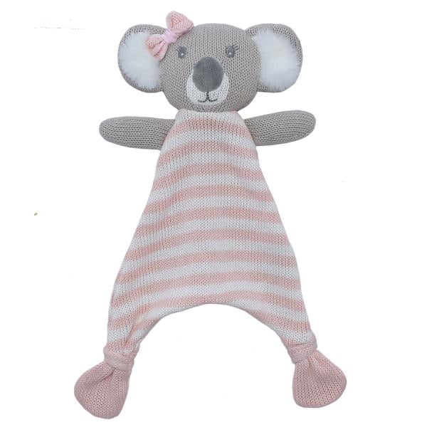 Chloe the Koala Knit Security Blanket