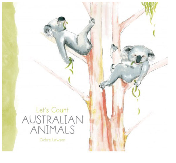 Let's Count Australian Animals Book